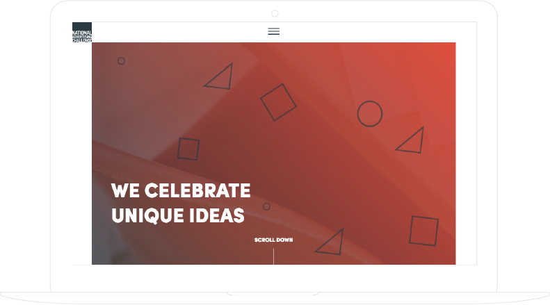 The National Advertising Challenge, responsive website developed by Aurelien Vigne
